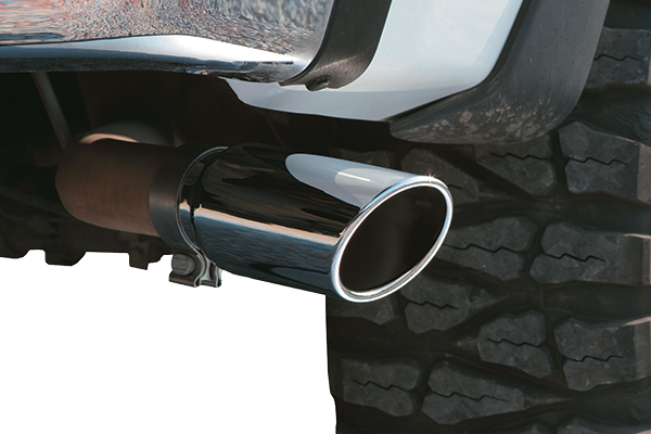 go rhino exhaust tip on truck