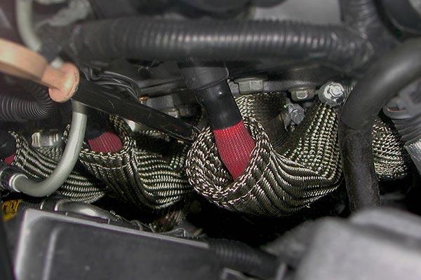 heatshield hp lava spark plug wire boot shields