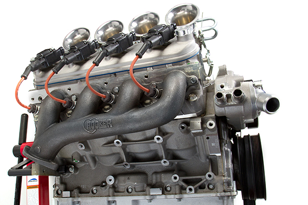 hooker exhaust manifolds installed