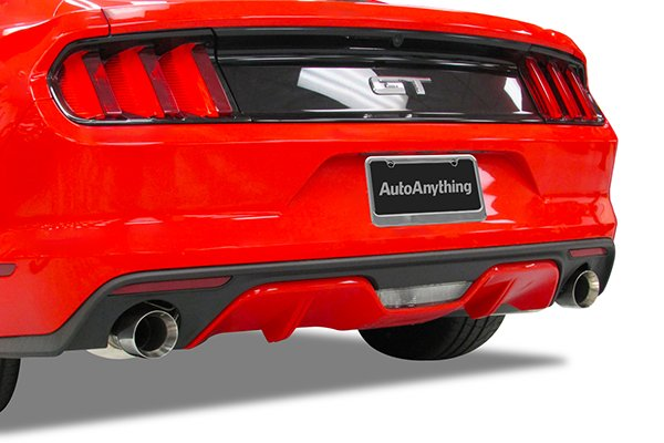 hooker exhaust systems mustang installed