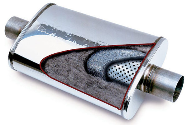 magnaflow muffler construction