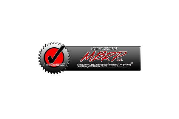 mbrp rolled straight polished authorized dealer