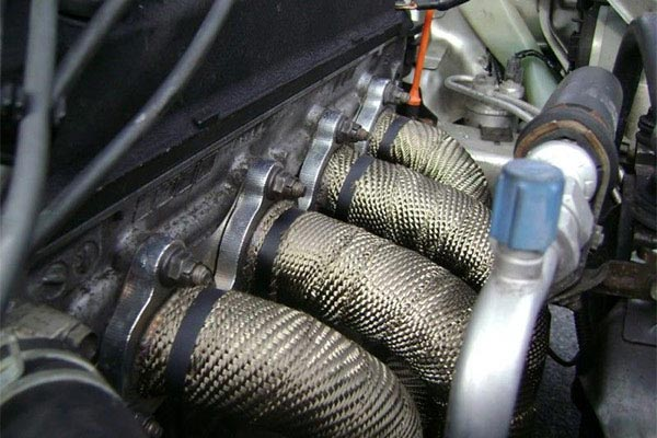 mishimoto exhaust heat wrap set header