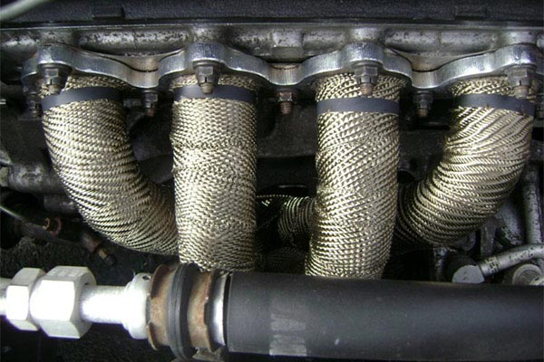 mishimoto exhaust heat wrap set header top
