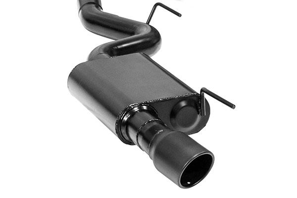truxp black tip exhaust system detail