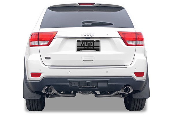 truxp performance exhaust system cherokee installed