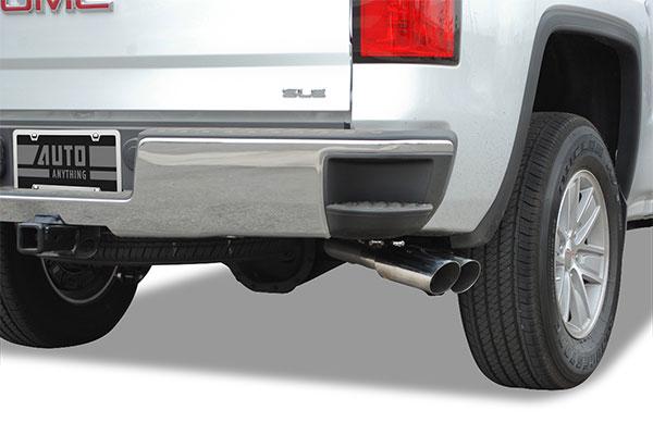 truxp performance exhaust system sierra detail