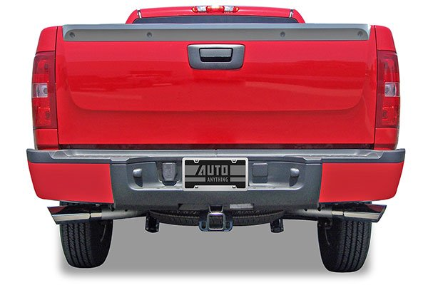 truxp performance exhaust system silverado installed