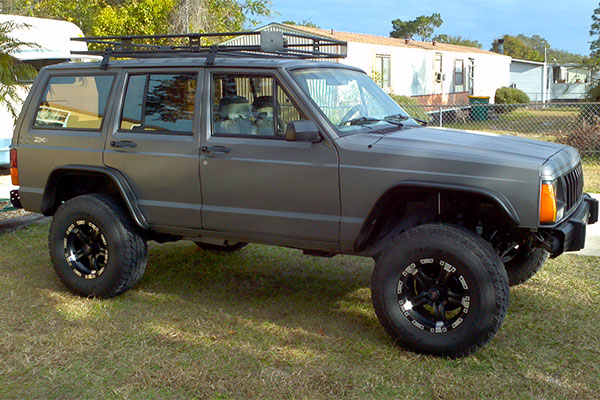 5149 bushwacker fender flares 1989 jeep cherokee