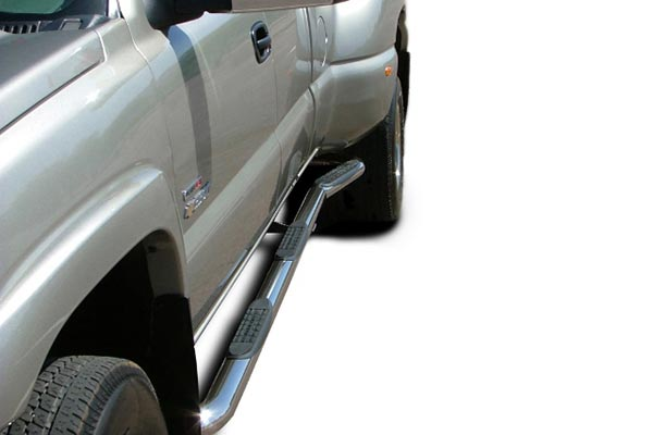 ICI nerf 3in w2w stainless chevy dually crop