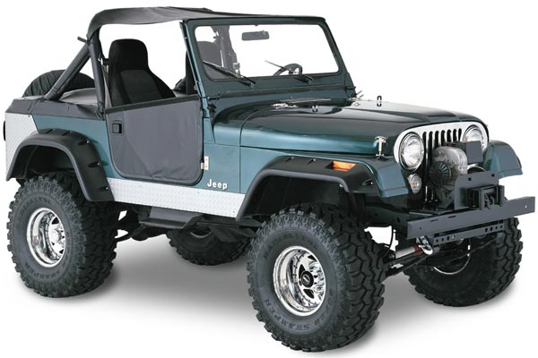 bushwacker 10910 jeep cj