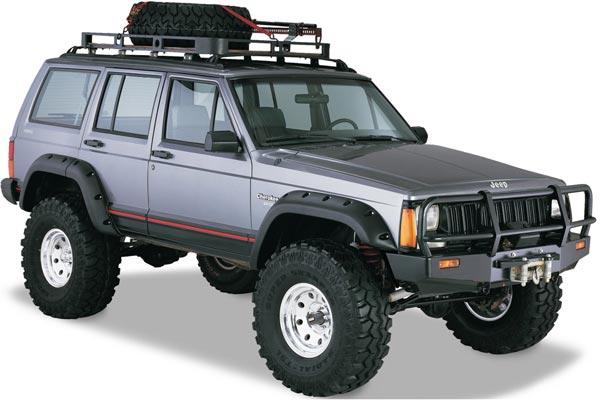 bushwacker 10911 jeep cherokee
