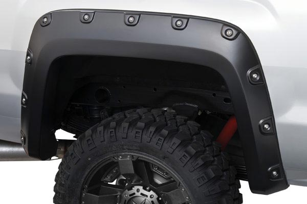 bushwacker boss fender flares pocket rear detail