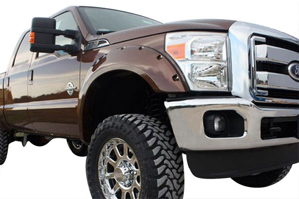 bushwacker color match pocket style fender flares related 3