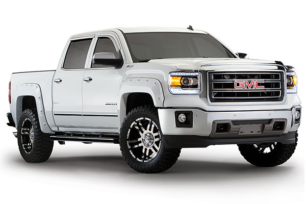 bushwacker color match pocket style fender flares related 7
