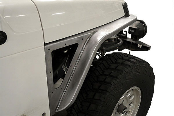 poison spyder defender fenders installed