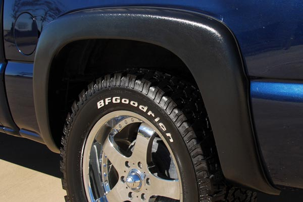 prestige ex wide fender flares rear well