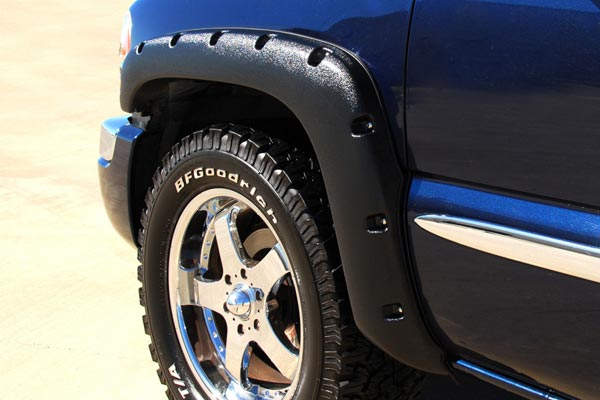prestige rx riveted fender flares front well