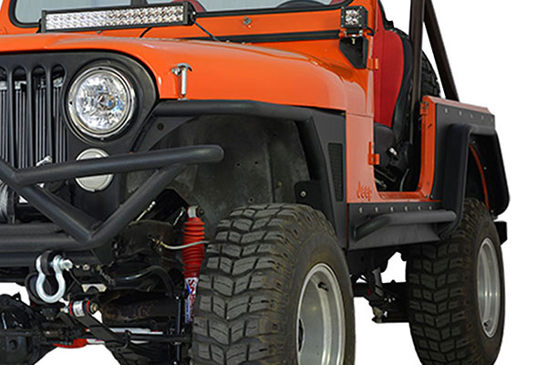 proz premium flat fender flares orange jeep