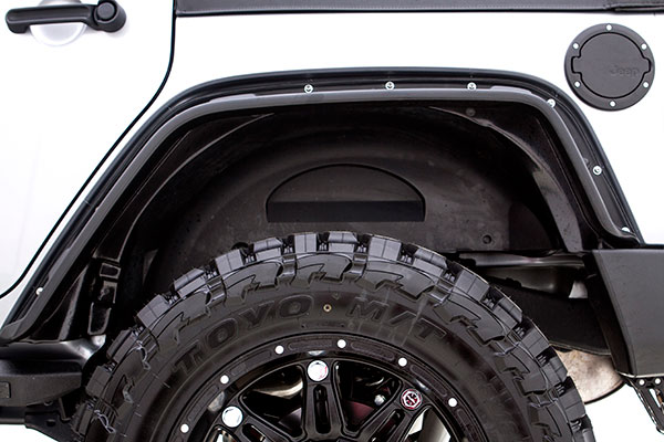 rampage flat style fender flares detail