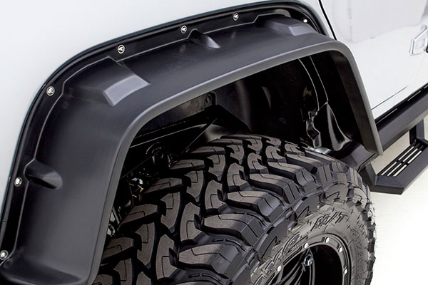 rampage flat style fender flares rear