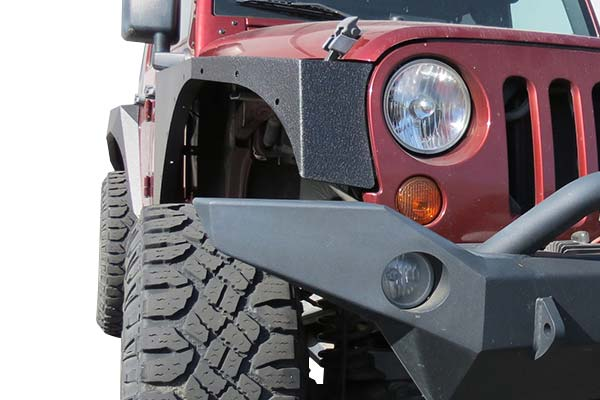 rbp pro series jeep fenders detail