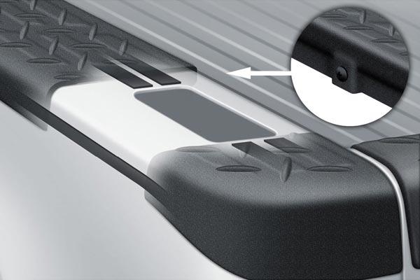 rel 5826 bushwacker diamondback bedrail caps