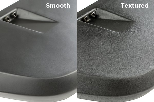 rugged ridge hurricane flat fender flares smooth vs textured