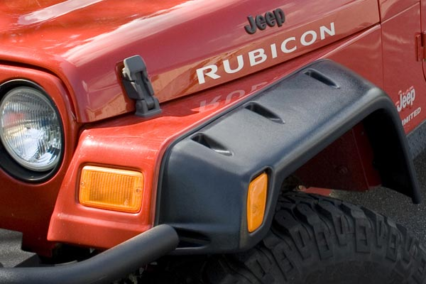 rugged ridge off road fender flare