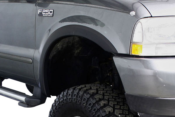 trueedge sportz fender flares installed
