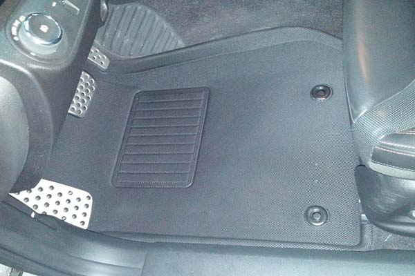 Customer Submitted Image - 3D Maxpider Kagu Floor Mats for 2017 Chevy SS