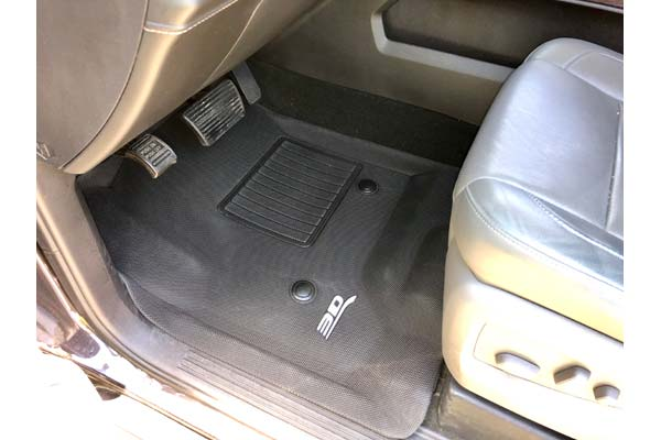 Customer Submitted Image - 2016 GMC Sierra Crew Cab Driver Side Mat