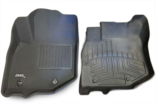 weathertech vs. 3d floor mats