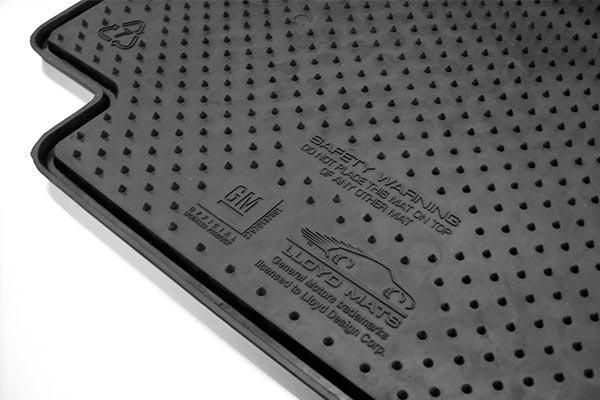 Lloyd Signature Rubber Floor Mat Nubs
