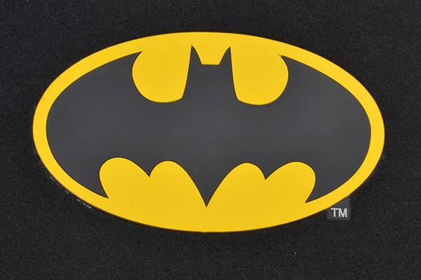 bdk batman floor mats logo detail