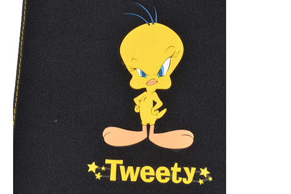 bdk tweety floor mats logo detail
