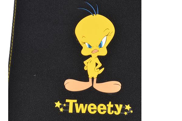 bdk tweety floor mats logo detail