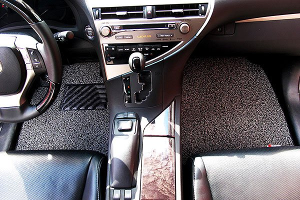 broadfeet coil floor mats lexus installed front