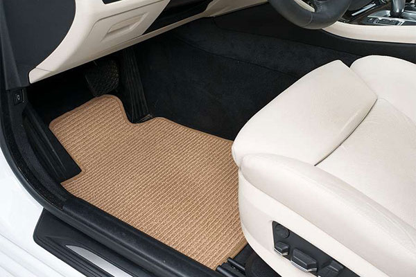 covercraft premier berber carpet floor mats installed 2