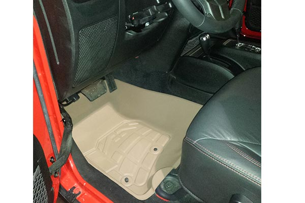 customfit floor liners jeep installed