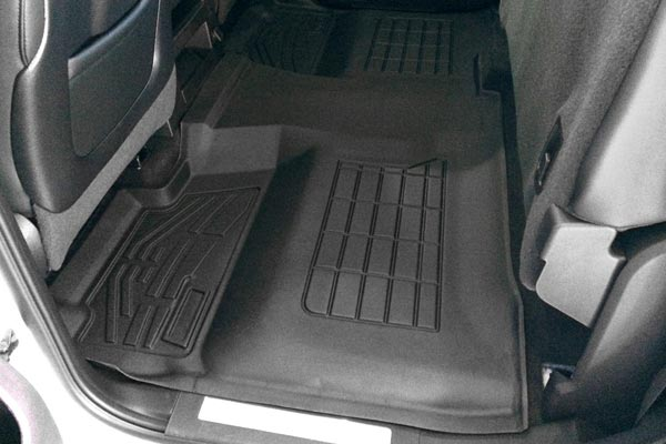 customfit floor liners rear installed