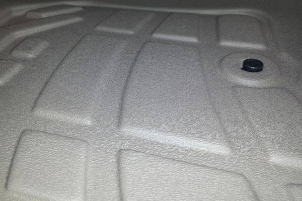customfit floor liners texture