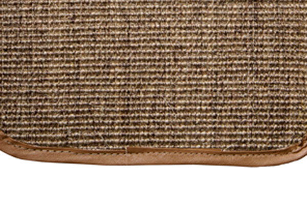 designer mats sisal cargo mat detail