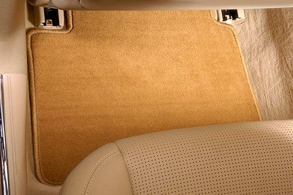 designer mats super plush floor mats installed