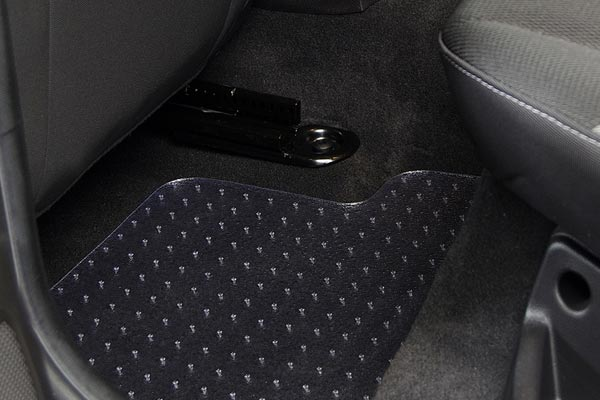exactmats clear floor mats focus rear installed