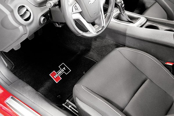 hurst floor mats installed