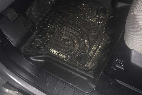 Customer Submitted Image - Husky WeatherBeater Floor Liners for 2015-2019 Ford F-150
