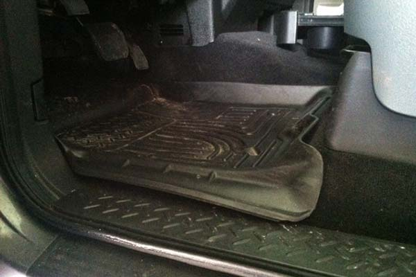 Customer Submitted Image - Husky WeatherBeater Floor Liners for 2009-2014 Ford F-150