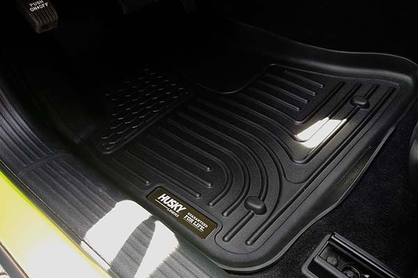 Husky WeatherBeater Floor Liners Installed in 2015 Dodge Challenger - Customer Submitted Image