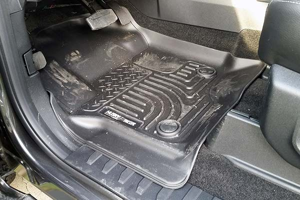 Husky WeatherBeater Floor Liners Installed in 2017 Ford F-250 - Customer Submitted Image